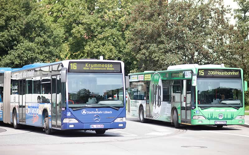stadtverkehr lübeck bus