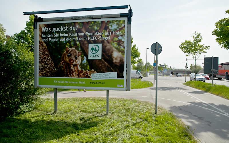 Plakatwerbung Auf Ihrem Grundstück Schiffmann Aussenwerbung