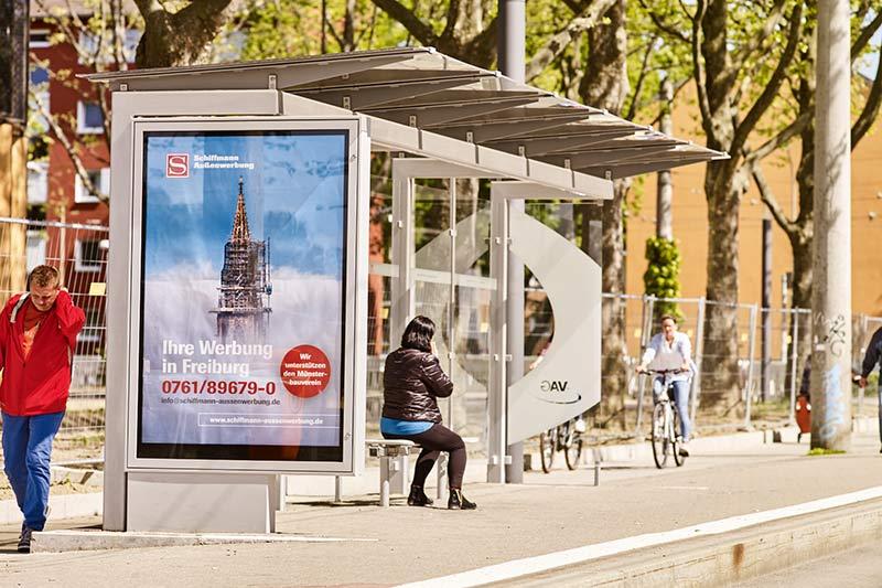 Freiburger Münster fotografiert von Jörg Dattler vom Schlossbergrestaurant Dattler für Plakatkampagne
