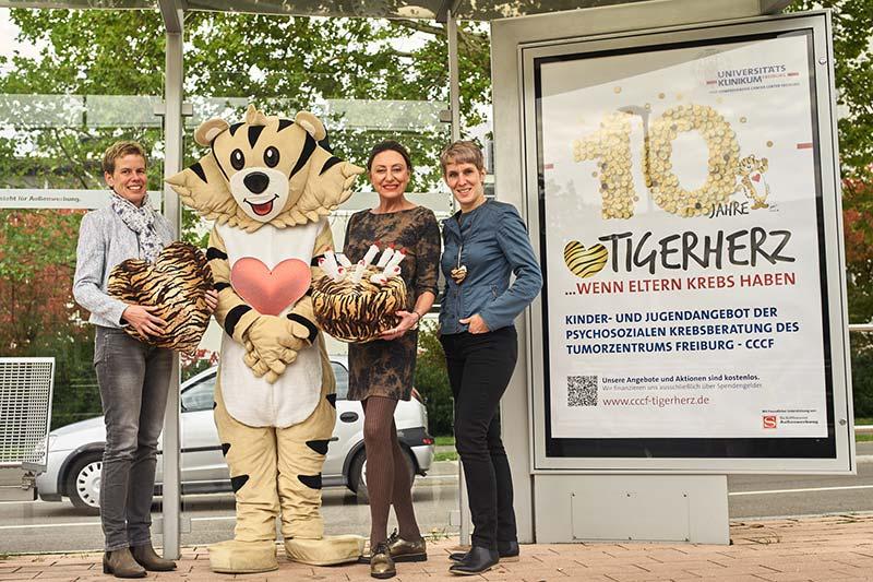 Plakat der Tigerherz-Aktion
