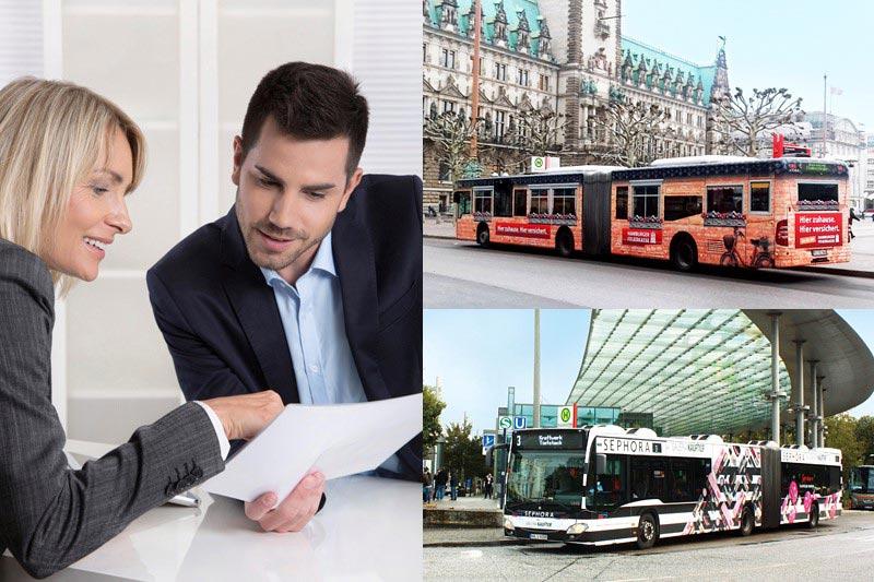 Stellengebot Hamburg im Vertriebsteam Verkehrswerbung