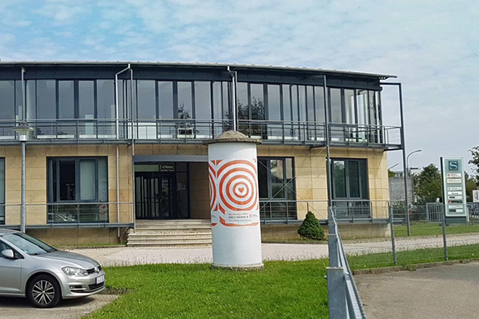 Firmengebäude in Augsburg